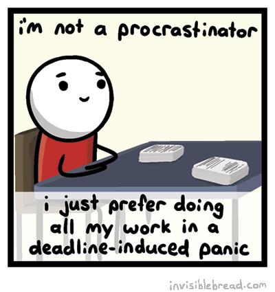 definition-procrastination