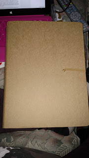 The front of my Grimoire
